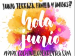 JUNIO TERRAZA, FAMILIA Y AMIGOS??